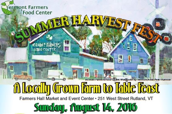 Vermont Farmers Food Center Summer Harvest Fest 2016