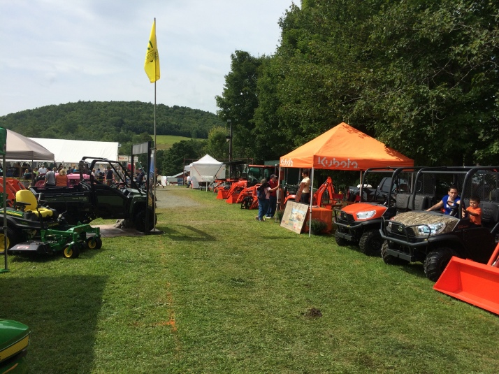 Townline Equipment and Kubota Cornish Fair 2016