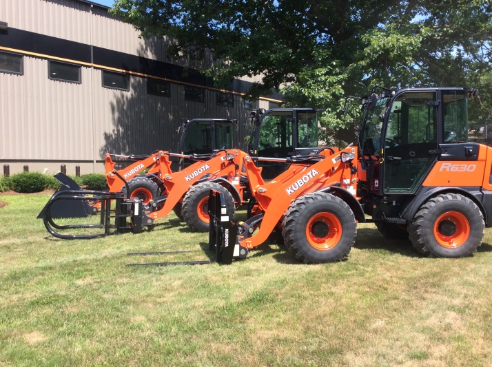 Townline Equipment Kubota R530 and R630 Compact Wheel Loaders