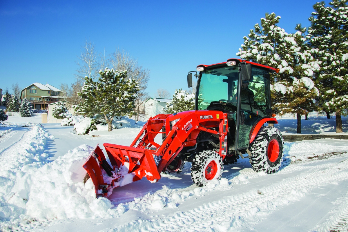 Used Snow Plows >> Winter Solutions: The Kubota B2650 Compact Tractor   Townline Equipment